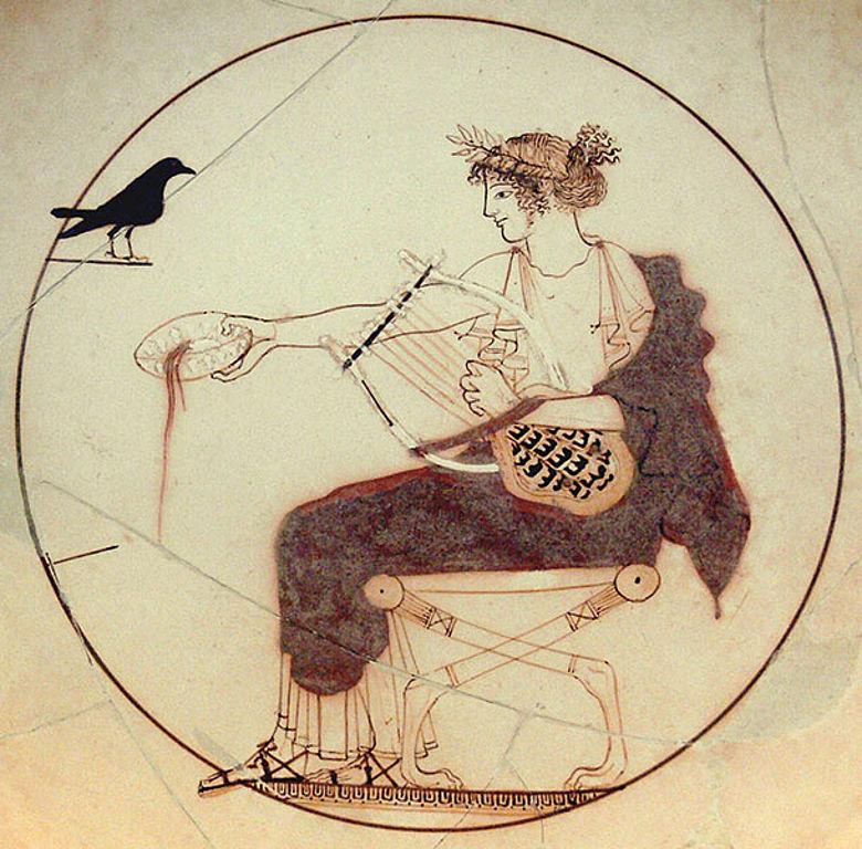 Apollo mit Lyra