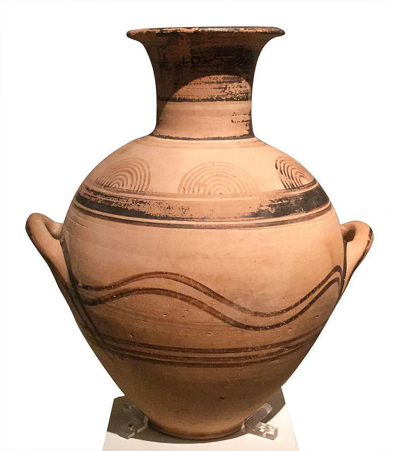Attische Amphora (frühprotogeometrisch)