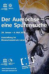 Ausstellungplakat: Der Auerochse - eine Spurensuche