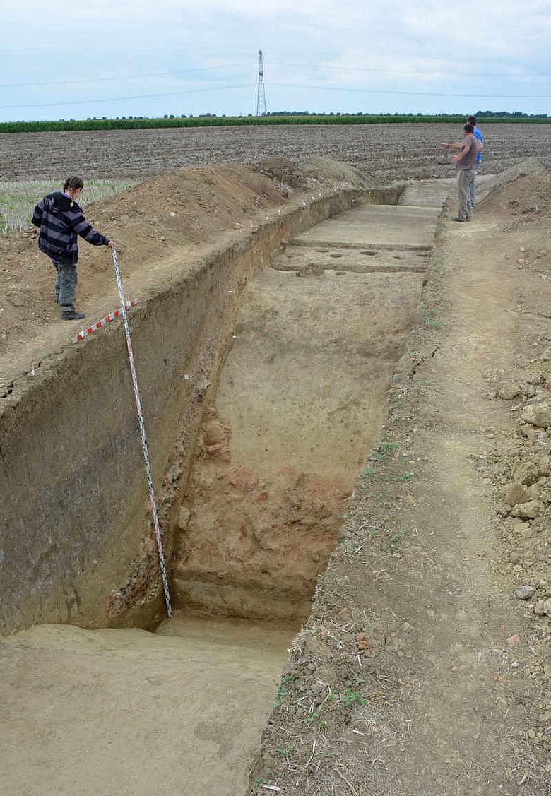 Bronzezeitliche Befestigungsanlage
