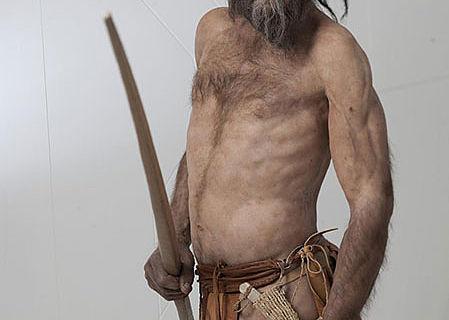 Ötzi-Rekonstruktion von Kennis