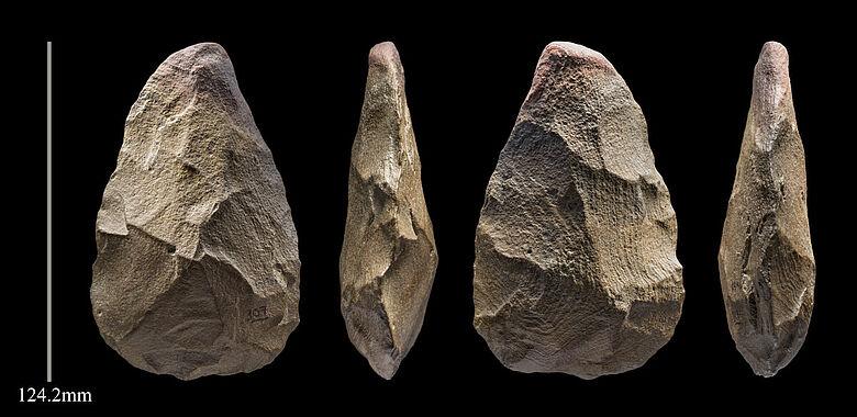 400.000 Jahre alte »Handaxt«