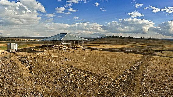 Ausgrabung im Hochland von Tigray