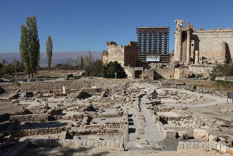 Bustan Nassif, restauriertes Areal