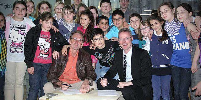 Unterzeichnung des Kooperationsvertrages in Herne