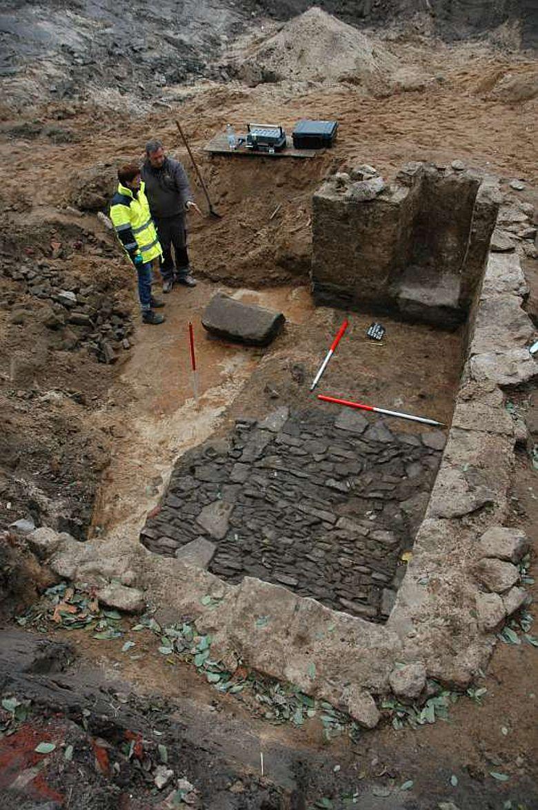 Keller eines Wohnhauses des 16. Jahrhunderts in Herford