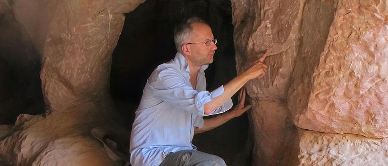 Untersuchung einer frühalphabetischen Inschrift