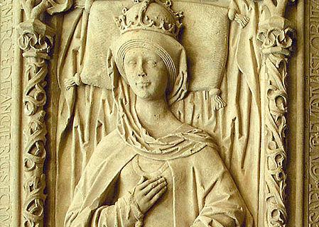 Darstellung der Königin Editha