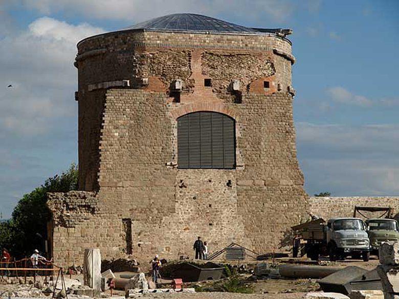 Restaurierter Südturm