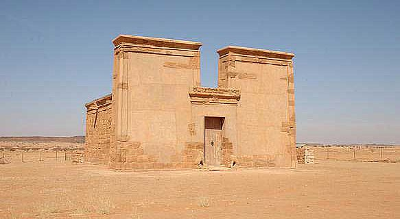 Tempelanalage in Musawwarat es-Sufra im Sudan (C Roner/CC BY-SA 1.0)
