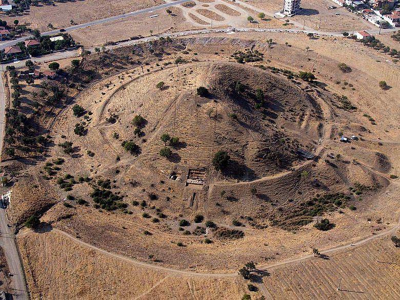 Grabhügel Yiğma Tepe, Pergamon