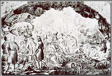 Künstlerfest in der Neanderhöhle.