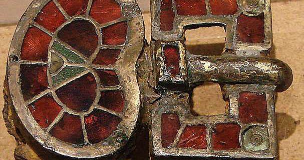 Verzierte Schnalle aus der Merowingerzeit
