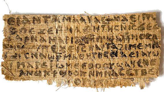 Das umstrittene koptisch-ägyptische Papyrus-Fragment