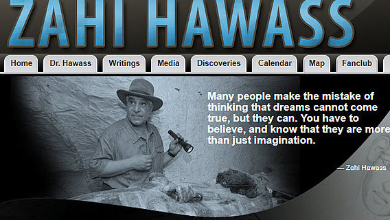 Zahi Hawass Website
