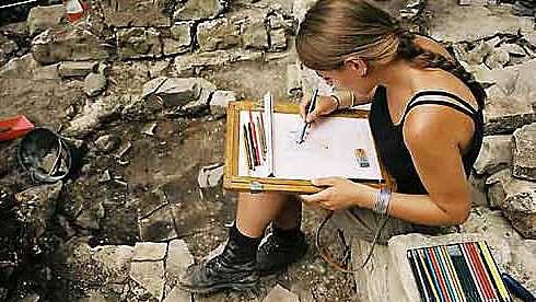 Die Grabungskampagne auf der Burg Cucagna