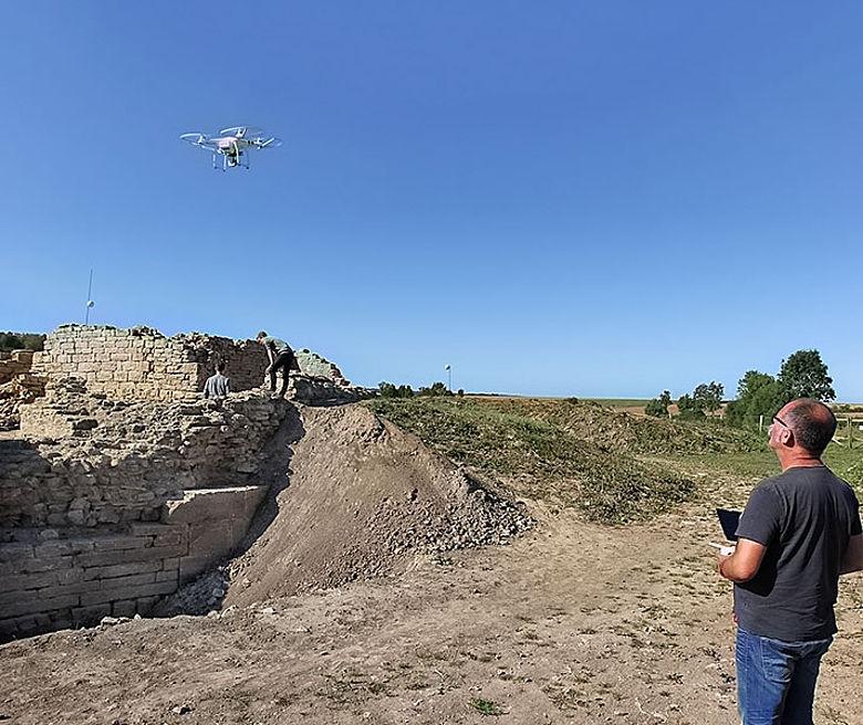 Drohnen-Befliegung Holsterburg