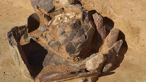 Urnenfeldergrab bei Dolle