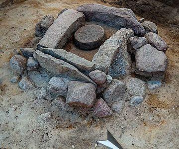 Steinkistengrab ältere Eisenzeit