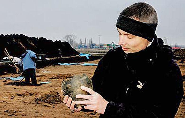 Archäologe Torsten Wagner
