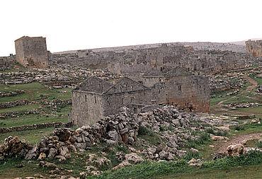 Serjilla im südlichen Kalksteinmassiv