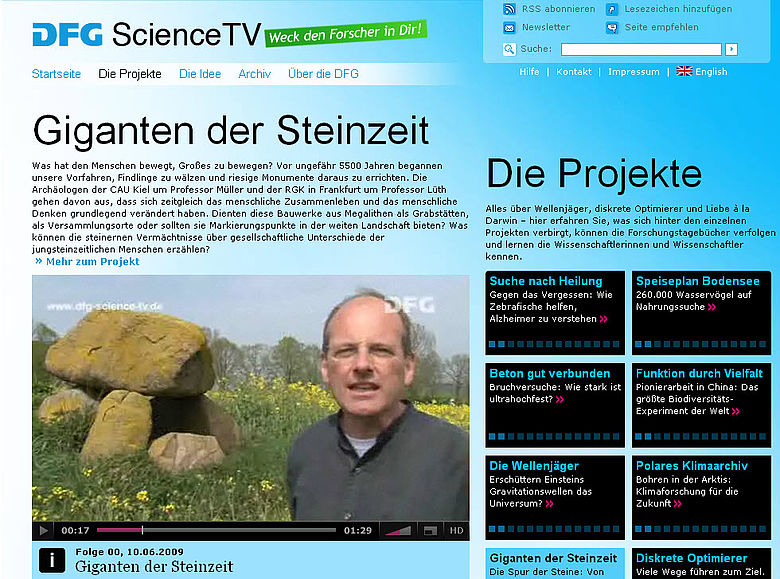 DFG Science TV