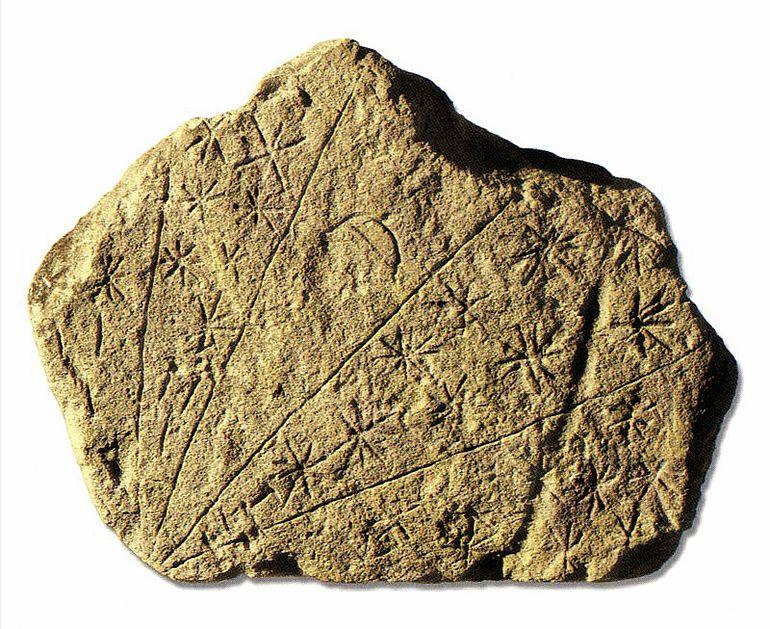 Kalksteinplatte von Tal-Qadi