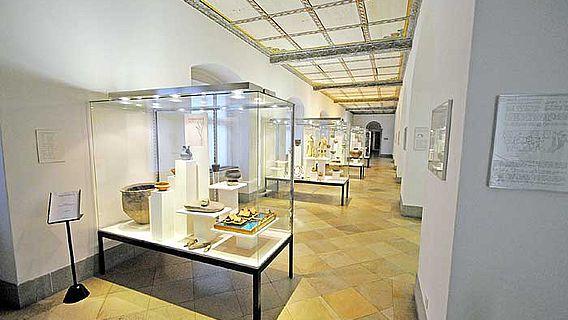 Bereits seit August 2011 ist die alte archäologische Ausstellung in Historischen und Völkerkundemuseum St. Gallen abgebaut (Foto: HVMSG)