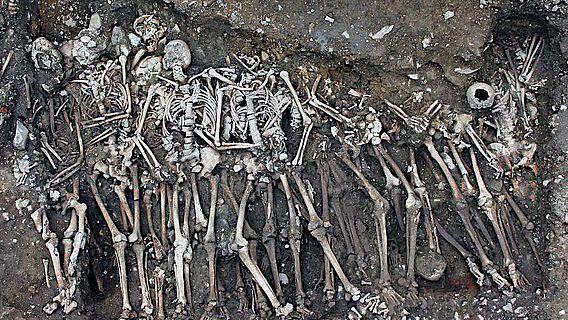 Grab der Soldaten, die der königlichen Armee zugerechnet werden und im Jakobinerkloster begraben sind