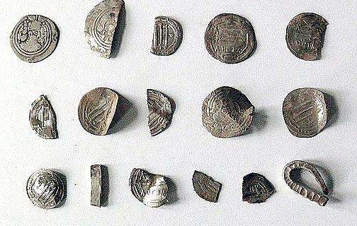 Arabische Münzen (Foto: Jan Meßerschmidt, Universität Greifswald)