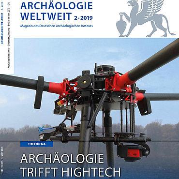 Cover: Archäologie Weltweit 2/2019