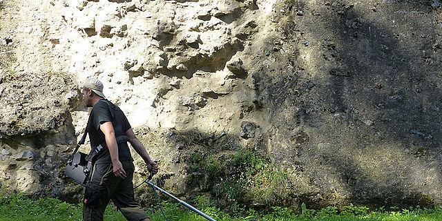 Bodenradar im Einsatz