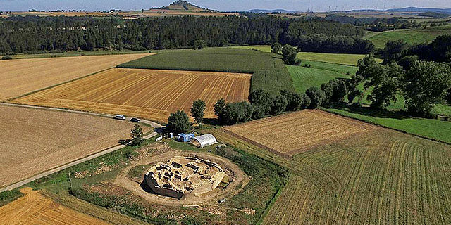 Holsterburg Luftbild