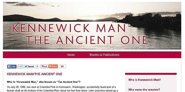 Die Überreste des «Kennewick Man» werden derzeit im Burke Museum in Seattle, WA aufbewahrt.