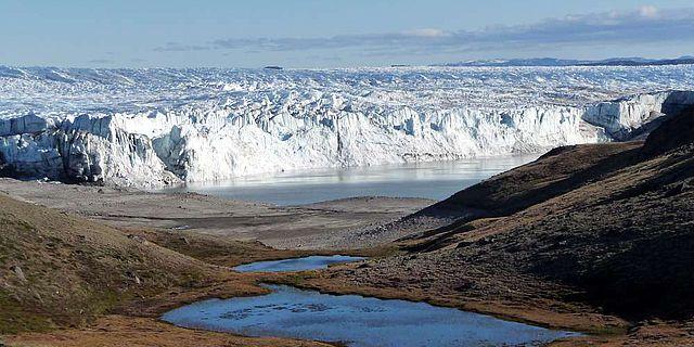 Gletscherkante in Grönland