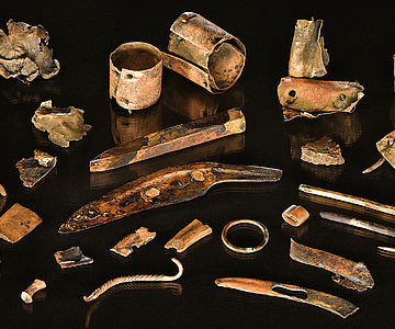 Funde vom bronzezeitlichen Schlachtfeld an der Tollense