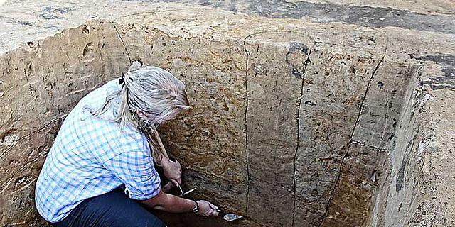 Pfostengrube Römischer Wachturm