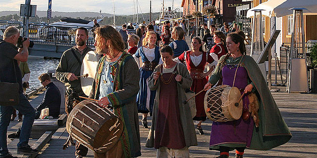 Wikingerfest in Tønsberg