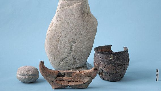 Funde aus der Kultgrube