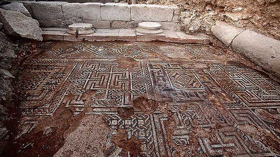 Altsyrisches Mosaik