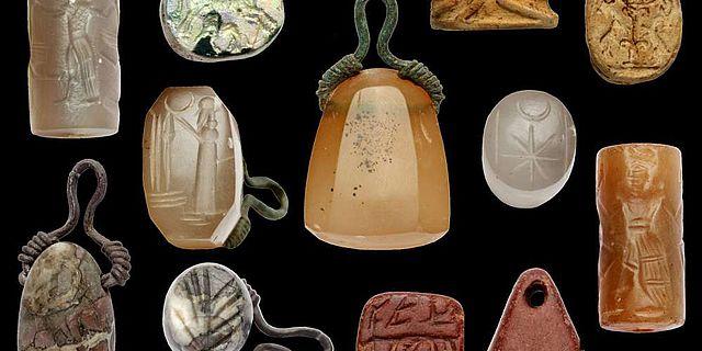 Auswahl von Siegelfunden