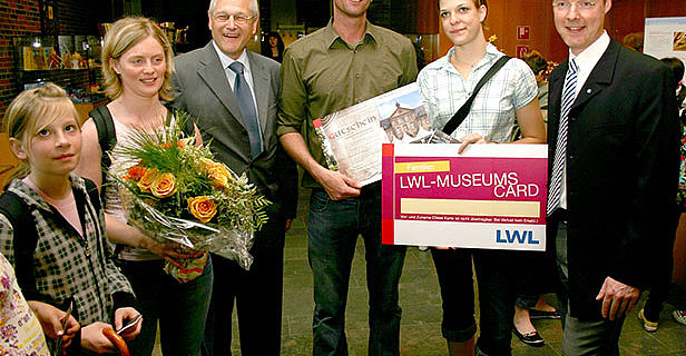 400.000ster Besucher in Herne