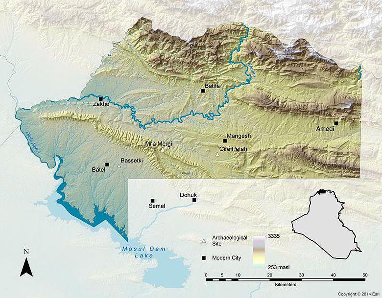 Region Dohuk, Irak