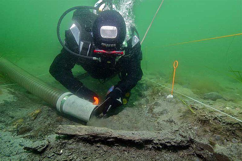 Unterwasserarchäologie in Schleswig-Holstein