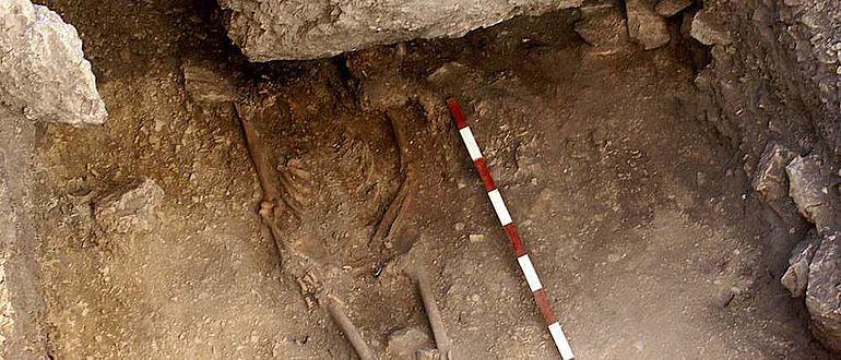 Das Skelett eines 15.000 Jahre alten anatolischen Jägers und Sammlers