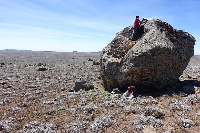 Geologische Probennahme