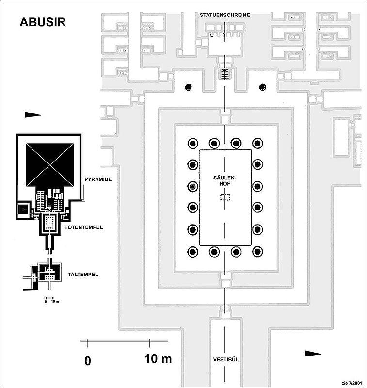 Bestattungskomplex von König Sahure