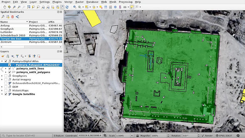 Screenshot: Palmyra-GIS