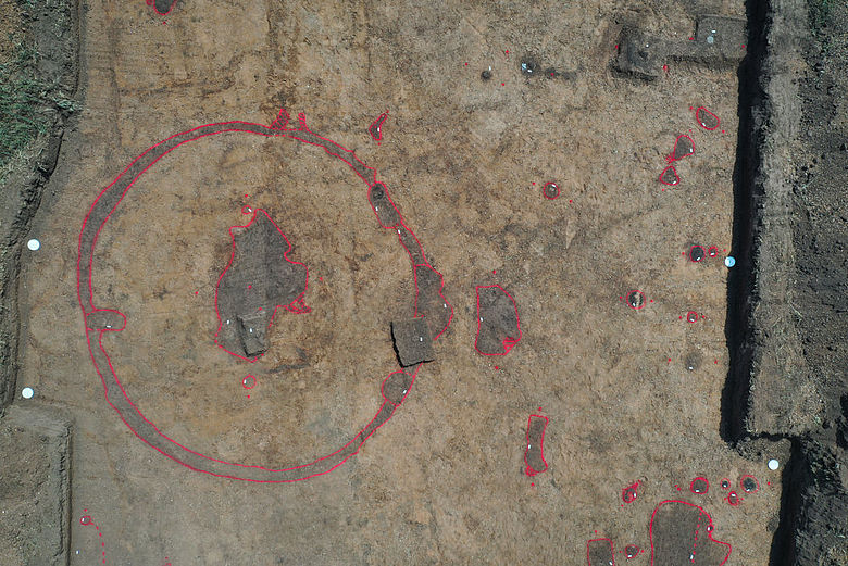 Bronzezeitlicher Grabhügel bei Schönebeck