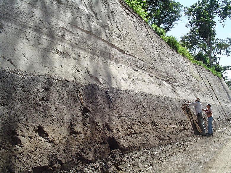 Ablagerungen der Ilopango-Eruption 539